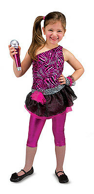 Melissa & Doug Rockstar Rock Star Role Play Costume Set #8506 New Sealed](Melissa And Doug Costumes)