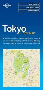 Lonely Planet - Tokyo City Map by Lonely Planet Publications Staff (2016,...