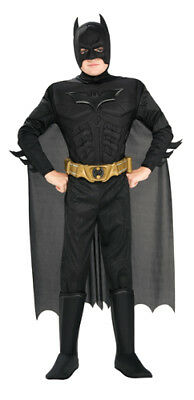 Deluxe Batman Dark Knight Kids Halloween Costume - Deluxe Batman Dark Knight Costume