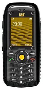 New Caterpillar Cat B25 Black Unlocked GSM Dual Sim Phone Military Grade IP67