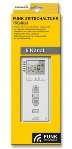 Schellenberg Premium Funk-Zeitschaltuhr mit Funk RolloDrive 65 Premium (20032)