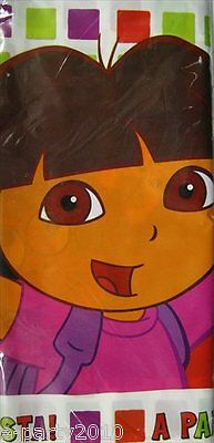 DORA THE EXPLORER Star Catcher PLASTIC TABLE COVER ~ Birthday Party Supplies ()