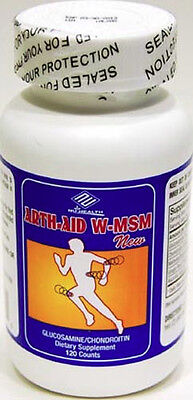 Glucosamine Chondroitin MSM 120tabs, 2 Months (Glucosamine Chondroitin 120 Tab)