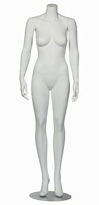 Female Mannequin Chrome Stand New