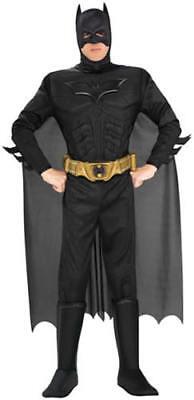 Batman Deluxe The Dark Knight Rises mit Muskeln Karneval Kostüm M-XL - Batman Dark Knight Rises Deluxe Kostüm