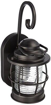 Kenroy Home 90951GC Beacon Small Wall Lantern Blackened Gilded Copper Finish
