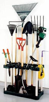 Plano Long Handle Yard & Garden Garage Tool Organizer! Storage Rack Outdoor Lawn