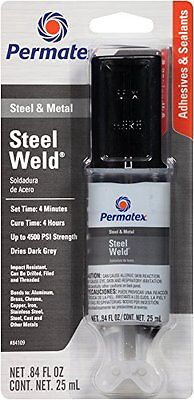 Permatex 84109 Permapoxy 4 Minute Multi-metal Epoxy 0.84 Oz.