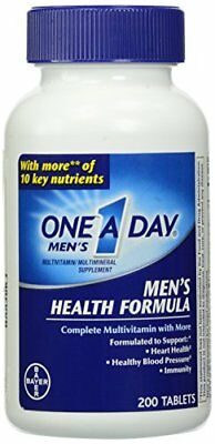 One-A-Day Multivitamin Herren Gesundheit Formel 200 Tablette Flasche Je - Gesundheit Multivitamin
