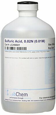 Lc256601 Sulfuric Lab Chemicals Acid 0.02n 0.01m 500 Ml Volume Industrial