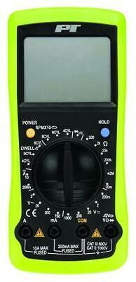 Digital Automotive Multimeter Voltage Tester Extra Large Digital Lcd Display