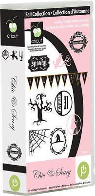 CRICUT TERESA COLLINS *CHIC & SCARY* HALLOWEEN CARTRIDGE *NEW* TRICK OR TREAT](Cricut Cartridges Halloween)