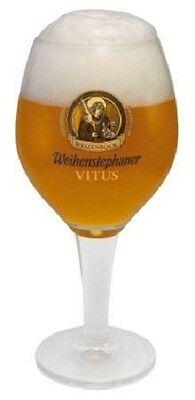New Weihenstephaner Vitus German Beer Glass 0.5 Liter
