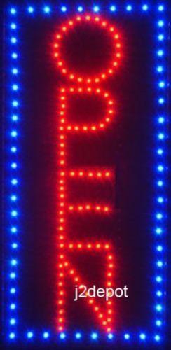 Vertical Led Open Sign Ebay