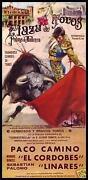 Spanish Bullfight Poster