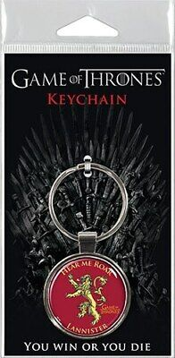 """HBO Game of Thrones Lannister Assortment 1.5"""" Fob Keychain  #snov19-341"""