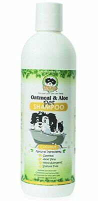 All Natural Hypoallergenic Oatmeal Dog & Cat Shampoo: Itchy Dry Sensitive Skin
