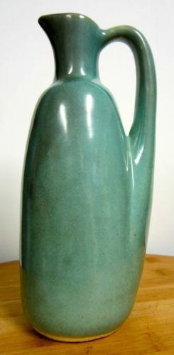 Green Pottery Pitcher Ebay