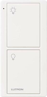 Lutron Caseta Wireless Switch Pico Remote Control White Turn On Off Controller