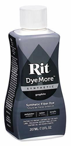 Rit All-Purpose Liquid DyeMore Liquid Dye, Graphite Fabric Blend  7-Ounce