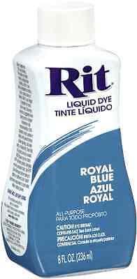 Rit Dye Liquid Fabric Dye, 8-Ounce, Royal Blue  PING .