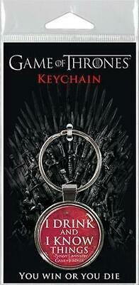 """HBO Game of Thrones Tyrion Lannister Assortment 1.5"""" Fob Keychain  #snov19-342"""