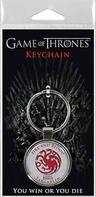 "HBO Game of Thrones Daenerys Targaryen Assortment 1.5"" Fob Keychain  #snov19-344"