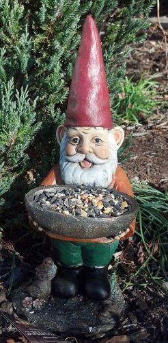 Gnome In Garden: Large Garden Gnome