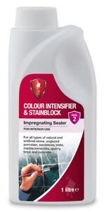 LTP Colour Intensifier and Stain Block - Tile and Stone Sealer Enhancer 1 Litre