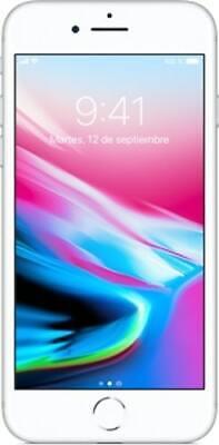 Apple iPhone 8 64GB 4.7/11,94cm Plata Nuevo 2 Años Garantía
