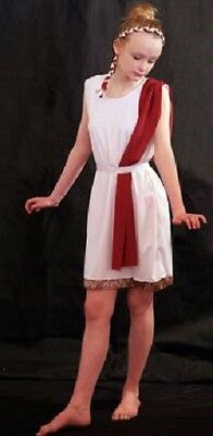Ancient Rome Costumes (World Book Day-Ancient Egypt-Rome-Greece-GREEK 1 COSTUME Larger Child)