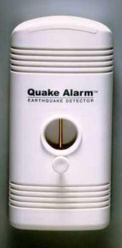 BACK IN STOCK!  New Quake Alarm Provides Earthquake Early Warning! FREE SHIP!