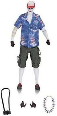 In STOCK DC Collectibles Batman Arkham Knight The Joker Vacation Action Figure