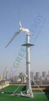 3 Units Generator Heads Only - 2000 W Grid-tie Wind Turbine Low Wind Speed