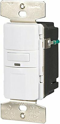 Eaton Vs310u-w-k Motion-activated Vacancy Sensor Wall Switch White