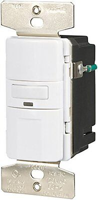 Eaton Vs310u-w-k Motion-activated Vacancy Sensor Wall Switch White