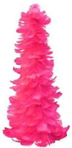 Pink Christmas Tree EBay - Pink Feather Christmas Tree