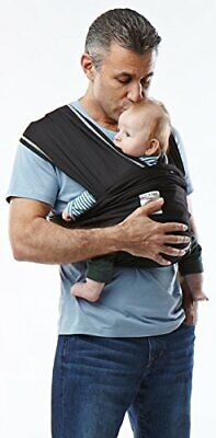 Baby K'tan Active Baby Wrap Carrier - Black - Size: Small