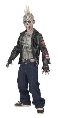 Zombie Punk Rocker Child Halloween Costume