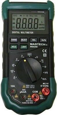 Tekpower Mastech Ms8268 Digital Acdc Automanual Range Digital Multimeter Meter