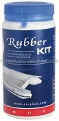 RIB INFLATABLE REPAIR KIT WHITE DINGHY RUBBER RRKWH
