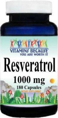 El resveratrol 180 Cápsulas 1000MG Polygonum cuspidatum contra el envejecimiento suplemento de dieta