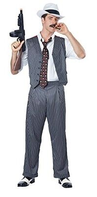 California Costumes Men's Mobster Costume 3 Sizes