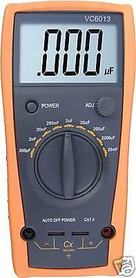 Aidetek 1999 Large Lcd Vc6013 3 12 Digital Capacitance Meter Up To 20mf 0.5 Pr