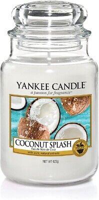 "YANKEE CANDLE - GIARA GRANDE ""COCONUT SPLASH"" DUR. MAX.110-115 H - 1577807E"