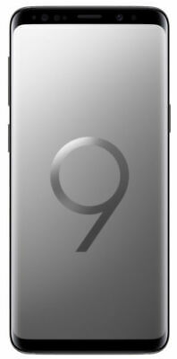 Samsung Galaxy S9+ SM-G965 - 256GB - grey Galaxy s9 plus unlocked titanium grey