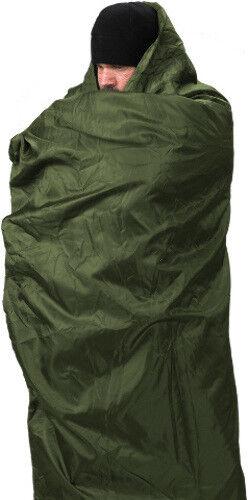 """Snugpak Jungle Blanket Olive Measures 76""""L x 64""""W. A warm, lightweight, less bul"""