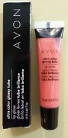 New In Box Ultra Colour Lip Gloss Tube Dreamy Peach $5 No Tax