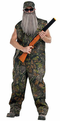 Duck Hunter Costume Halloween (AMERICAN REDNECK DUCK HUNTER DUCK DYNASTY ADULT HALLOWEEN COSTUME SIZE)