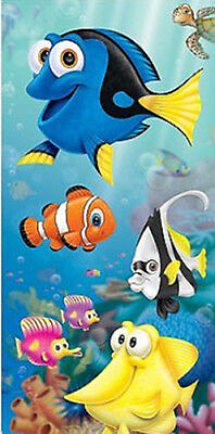 FINDING NEMO birthday party Scene Setter wall/door poster Dory fish under sea